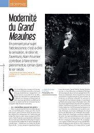 Modernité du Grand Meaulnes », par Marie-Hélène Boblet - Cndp