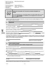 formulaire D2