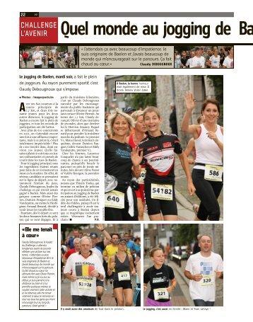 Quel monde au jogging de Baelen : record d - Challenge L'Avenir ...