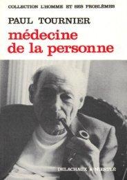 Médecine de La Personne - Association Paul Tournier