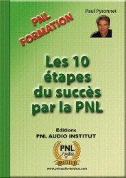 Chapitre 1. Base PNL - PNL Audio Institut