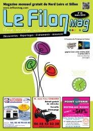 Magazine mensuel gratuit du Nord Loire et Sillon - Le FiLON MAG