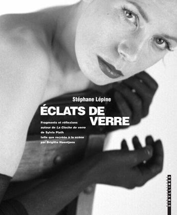 Stéphane Lépine ÉCLATS DE VERRE - Sibyllines