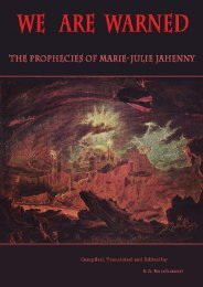 The Prophecies of Marie-Julie Jahenny - Schauungen.de