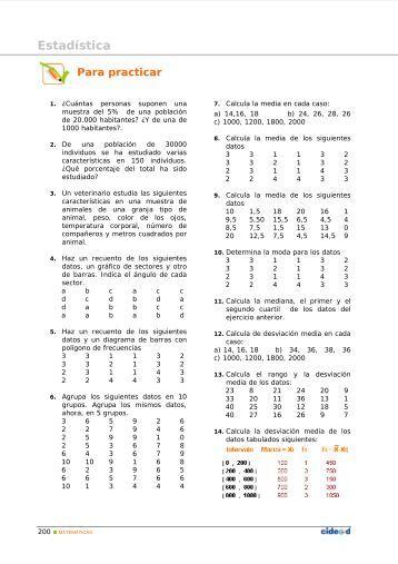 Estadística - Amolasmates