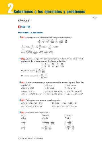 Los números y sus utilidades II - Amolasmates