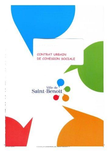 cucs commune de saint-benoît - SIG Politique de la Ville ...