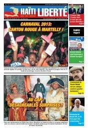 Carnaval 2013: Carton rouge à Martelly ! au Cap ... - Haiti Liberte