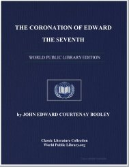 the coronation of edward the seventh - World eBook Library