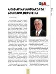 Ações realizadas este ano fortaleceram a advocacia acreana - Page 5