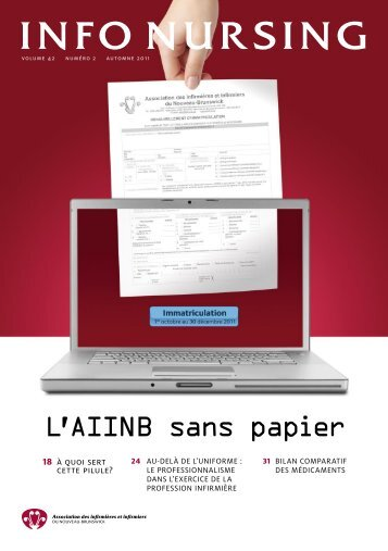 L'AIINB sans papier - The Nurses Association of New Brunswick