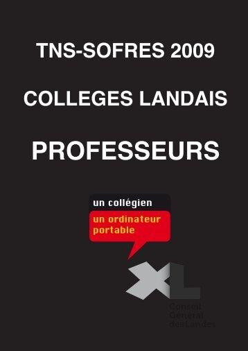 Cible Professeurs - Landes Interactives