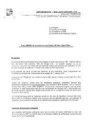 Directive Diocésaine - L'Eglise catholique de Bruxelles