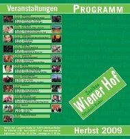 Jazz-Extra - Wiener Hof