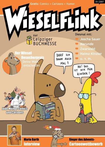 Leipziger BUCHMESSE - Wieselflink