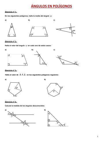 Ejercicios de problemas métricos I. - Amolasmates