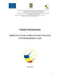 Ghidul Solicitantului - Autoritatea de Management pentru Programul ...