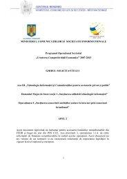 Ghidul - Autoritatea de Management pentru Programul Operational ...
