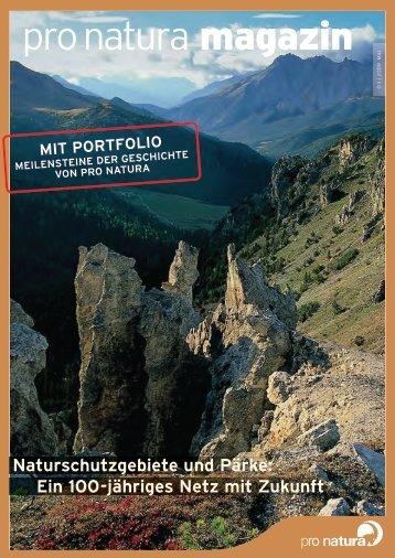ein 100-jähriges Netz mit Zukunft» (pdf) - Pro Natura