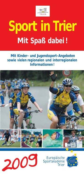 Sport in Trier 2009, 20.04. - Europäische Akademie des Rheinland ...