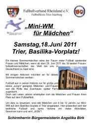 Samstag,18.Juni 2011 Trier, Basilika-Vorplatz! - Europäische ...
