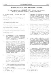Reglamento (UE) no 438/2010 del Parlamento Europeo ... - EUR-Lex
