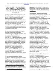 REAL DECRETO 783/2001, DE 6 DE JULIO, POR EL QUE ... - AMVAC