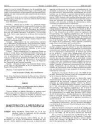Real Decreto 1940/2004 - BOE.es