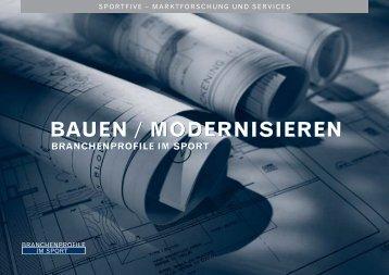 BAUEN / MODERNISIEREN BAUEN ... - SPORTFIVE