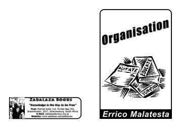 Errico Malatesta - Organisation.pdf