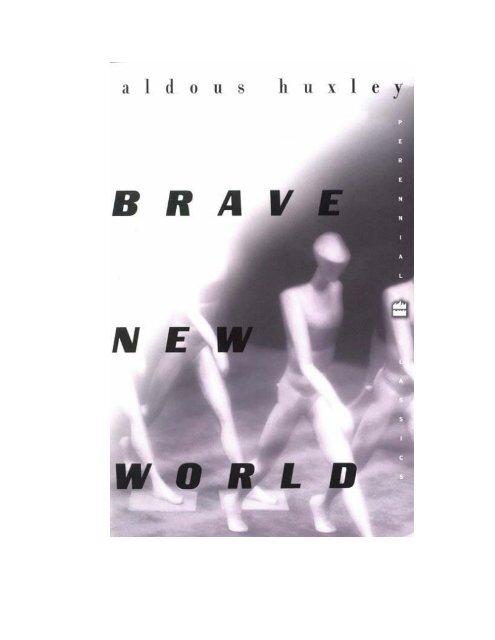 Aldous Huxley Il Mondo Nuovo Pdf