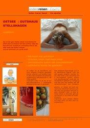 2010 - deutschland, ostsee (stellshagen), seminare - andersreisen ...