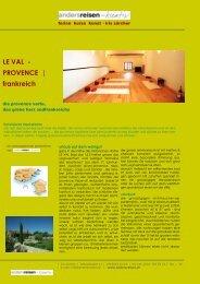 frankreich, provence (lei-val), yogaseminare
