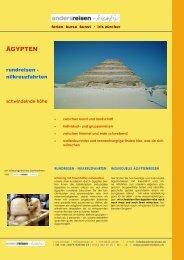 ägypten, rundreise: nilkreuzfahrten