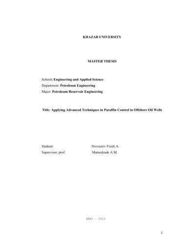 engineering masters thesis outline Master of agricultural engineering, distance learning degree programs for adult learners at the masters level mbm302 master thesis (7,500 words).