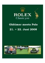 Oldtimer meets Polo 4 - PEGASUS Event Marketing