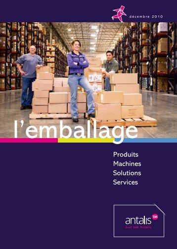 Découvrez notre catalogue de produits d'emballage ! (du début ...
