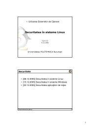 Curs 10 - Securitatea în sisteme Linux - derivat