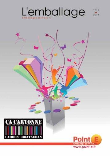 Télécharger notre catalogue en PDF - ÇA CARTONNE