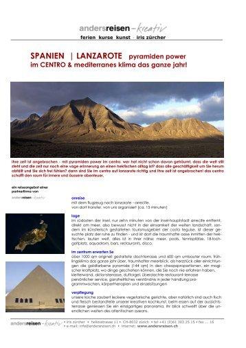 2009_Spanien, Lanzarote: Individualurlaub (Y20) - andersreisen ...