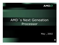 AMD´s Next Geneation Processor - Andrei