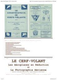 Revue Cerf-Volant - N° 19 - février 1911