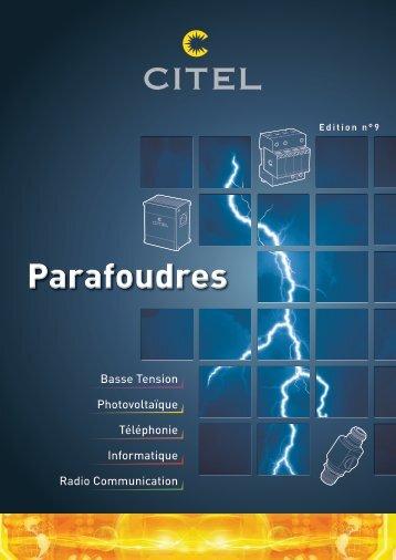 Parafoudres - Citel