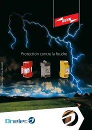 Protection contre la foudre - Onelec