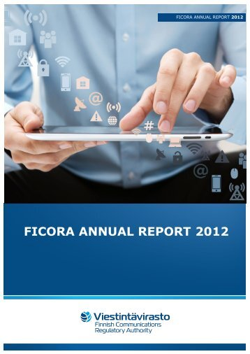 FICORA ANNUAL REPORT 2012