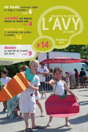 Téléchargez l'Avy n°14 en version PDF - Ville de Grabels