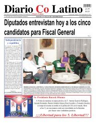Diputados entrevistan hoy a los cinco candidatos para Fiscal General