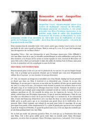 Rencontre avec Jacqueline Veuve et… Jean Rouch - L'Autre Cinéma