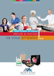 Catalogue emballages alimentaires 2011 / 2012 - Carrypack.fr