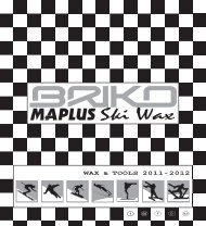 catalogue maplus 2011 - MAPLUS . the ski wax revolution